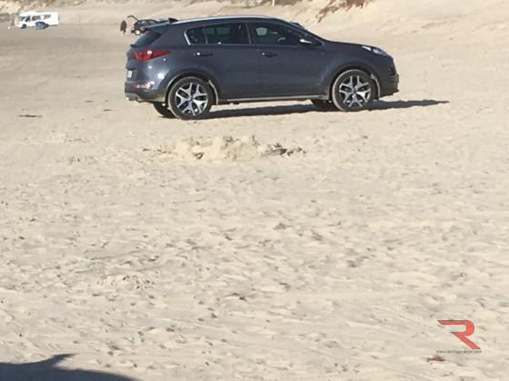 Kia immer noch am Strand