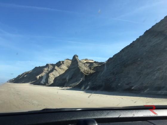 mit Auto am Strand fahren
