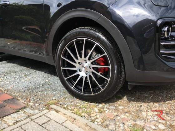 Bremssättel Rot lackiert....
